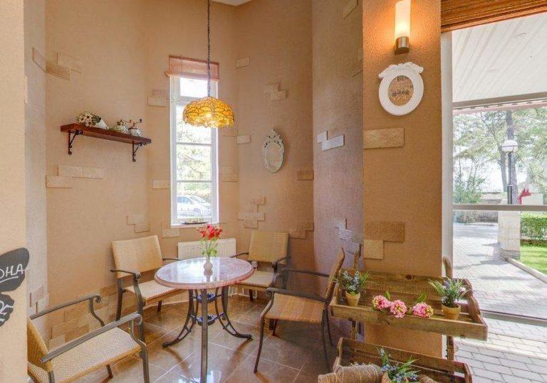 Кофейня отеля «Алые Паруса»