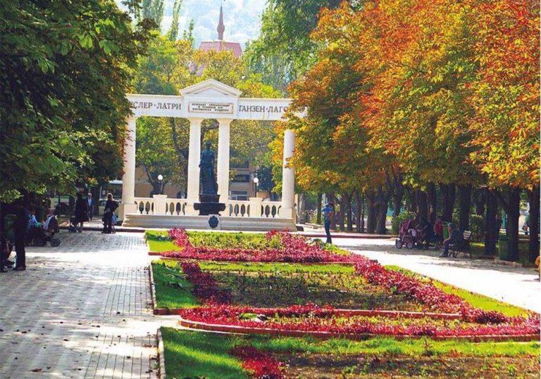 Парки и фонтаны