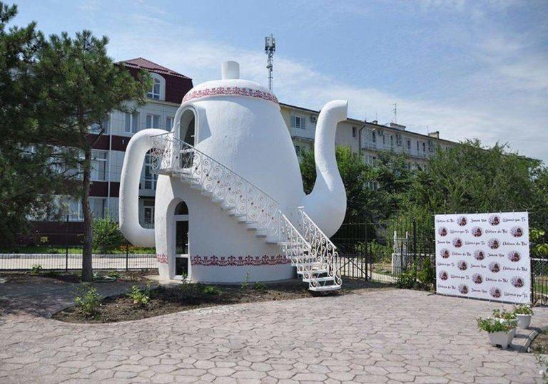 Кафе «Замок чая Château du Thé»