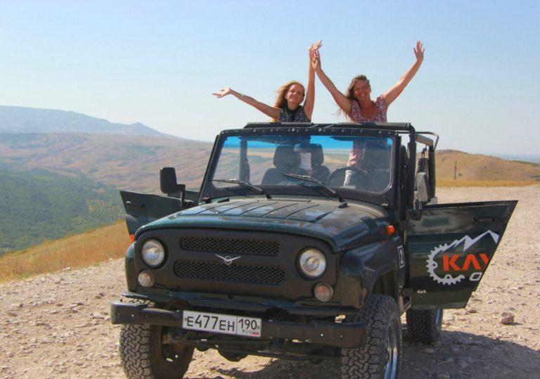Джип-туры по окрестностям Феодосии