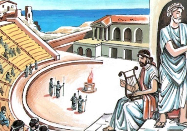 Спектакль «Античные истории»