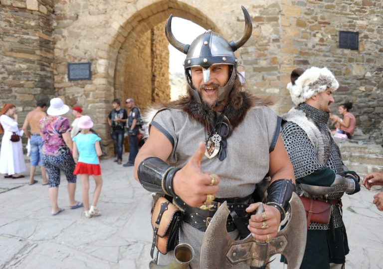 Международный рыцарский фестиваль «Генуэзский шлем», г. Судак