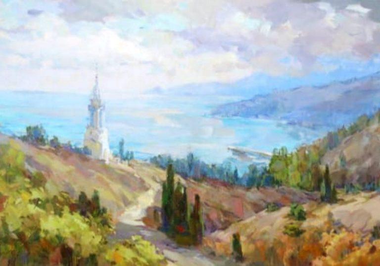 Выставка живописи Виктории Коркишко