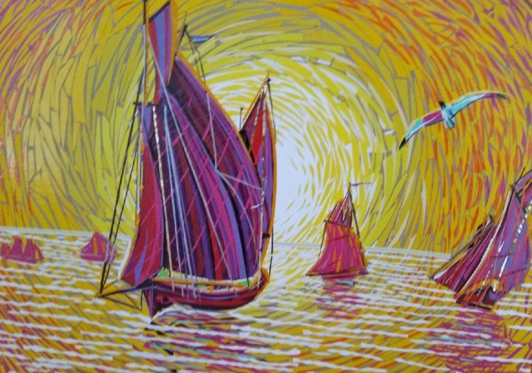 Выставка «Цвет глубокой радости»