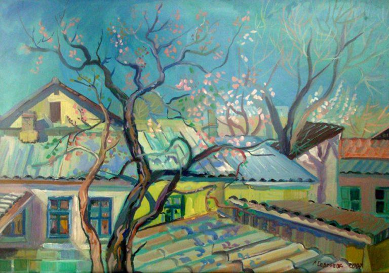 Художественная выставка «От цвета к цвету»
