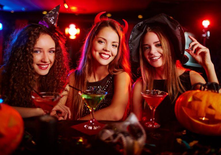 Ночной клуб приглашает на Halloween Party