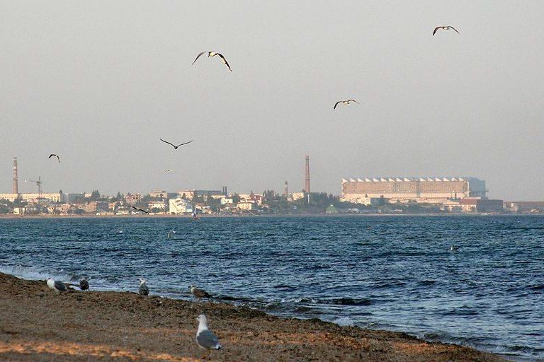Открытие катера-памятника заводу «Море»