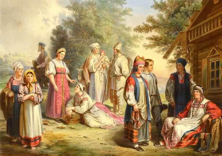 Выставка «Народы России»