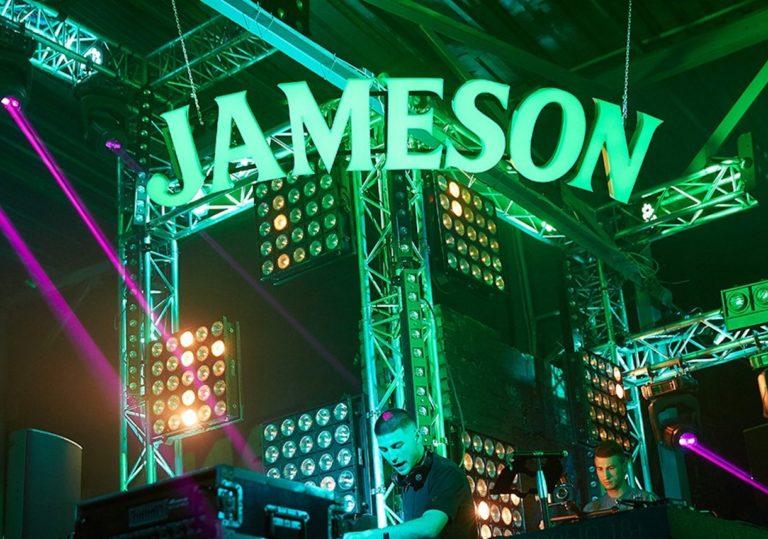 Jameson Party в ночном клубе Morris