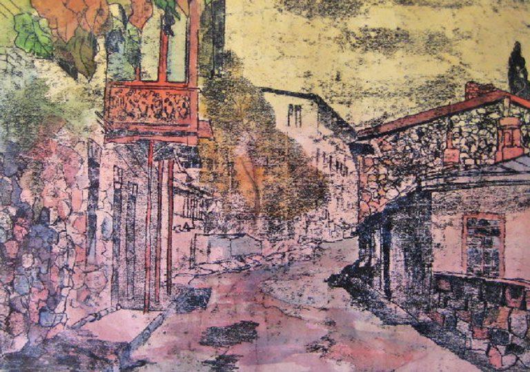 Открытие художественной выставки Татьяны Крикун-Таировой