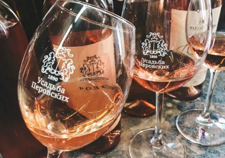 Дегустация в ресторане «Эрмитаж» — вина хозяйства «Усадьба Перовских»
