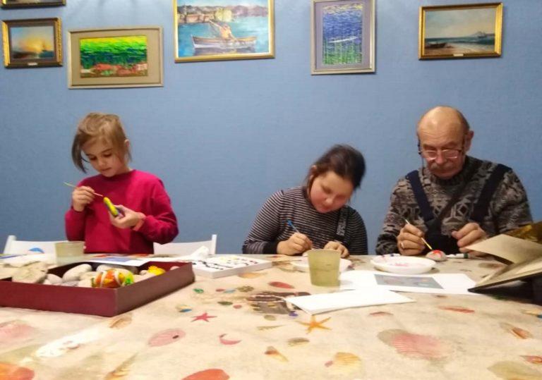 Детские МАСТЕР-КЛАССЫ в Музее Рыбы и Рыболовства
