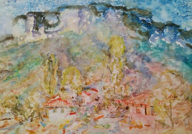 Выставка графики в Картинной галерее им. И. К. Айвазовского