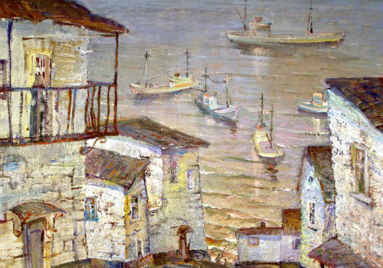 Выставка работ Ж. И. Матрунецкого