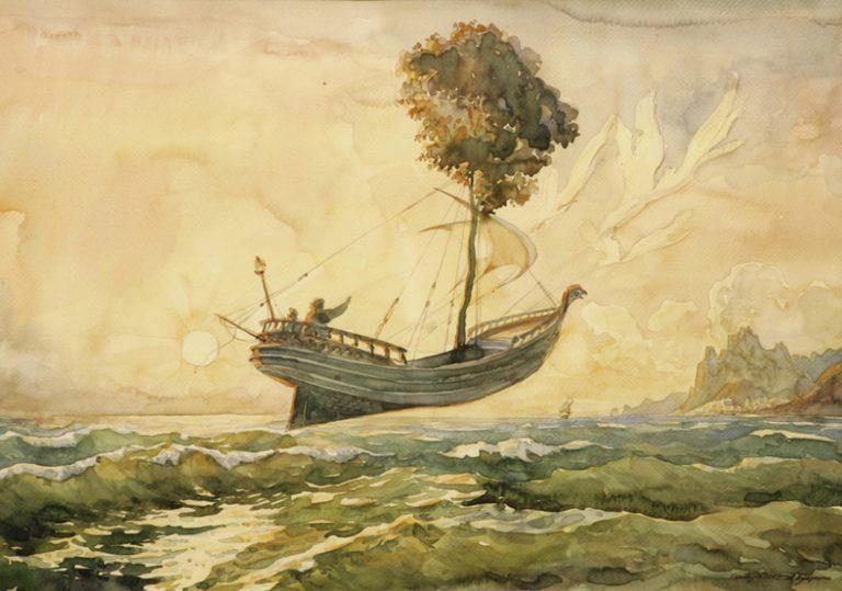 «Симфония моря». Персональная выставка художника Александра Худченко