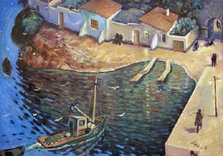 Выставка «Встречи и приключения» художника Владимира Адеева