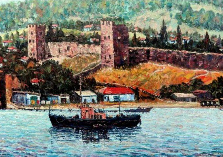 Художественная выставка «С этюдником по Крыму» (М. Индык)