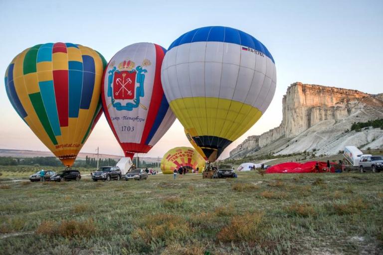 Фестиваль воздухоплавания «Белая Скала» — 2019