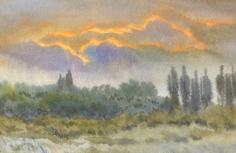 11 августа — Выставка Ольги Фединой «Солнце, море, ветер…»