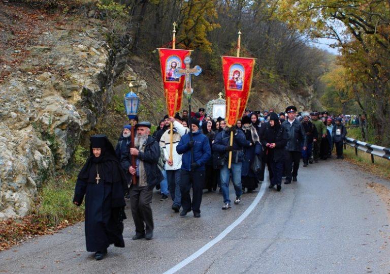 31 октября — 04 ноября — Крестный ход с иконой Божьей Матери «Казанская»