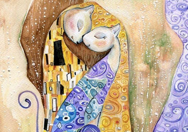 23 ноября — Мастер-класс «Поцелуй», по мотивам работ Густава Климта