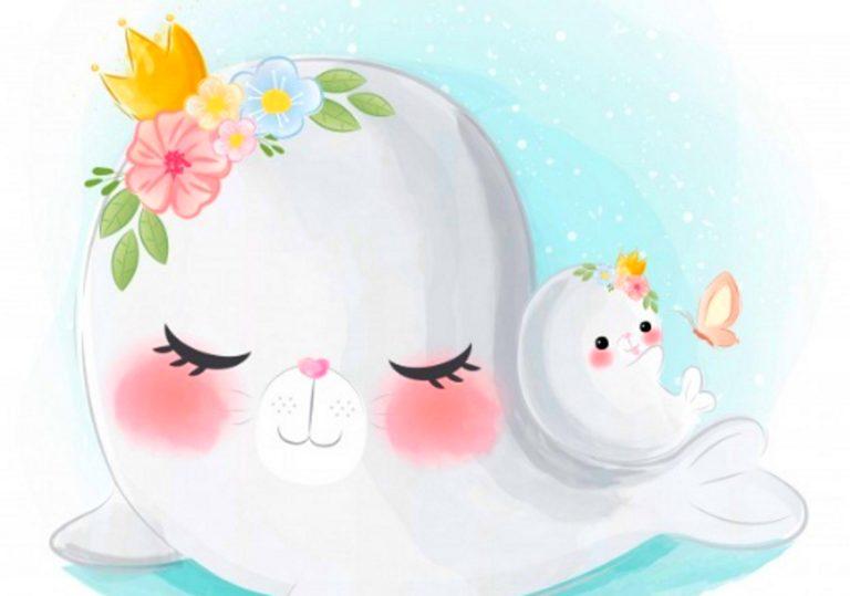 24 ноября — Мастер-класс «Морской котик с мамой»