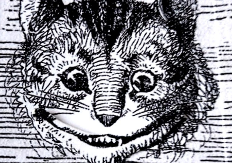 23 ноября — Мастер-класс — Открытка «Чеширский кот»