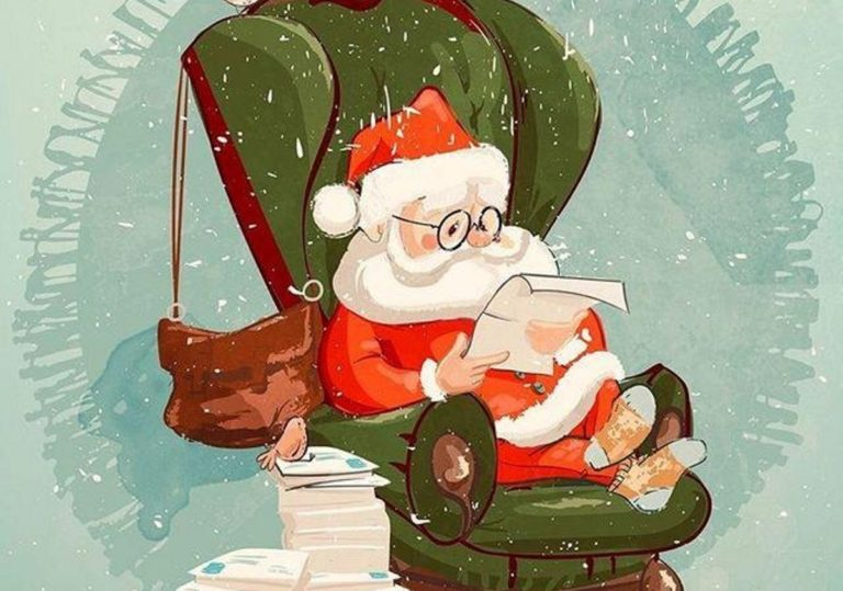 01 декабря — Мастер-класс «Письмо Деду Морозу», открытка, леттеринг