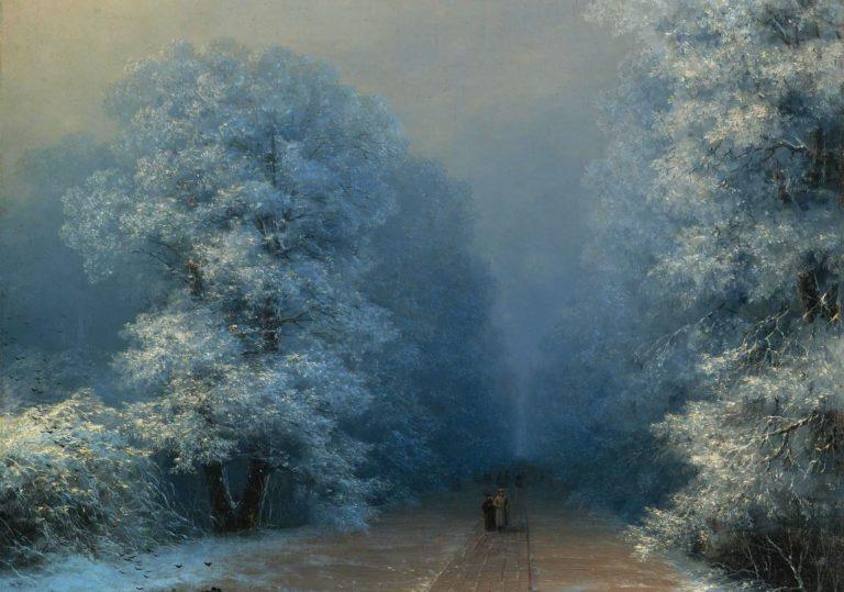 30 ноября — Мастер-класс «Зимний пейзаж»