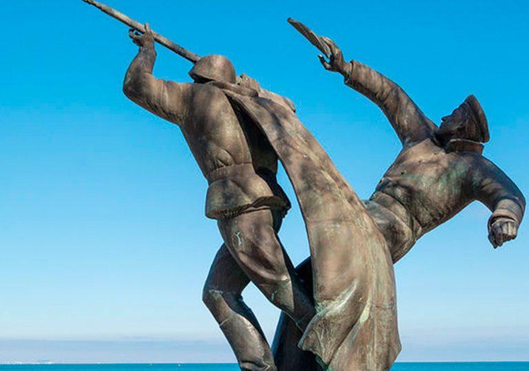 29 декабря выставка одной картины Н.С. Барсамова «Десант в Феодосии»