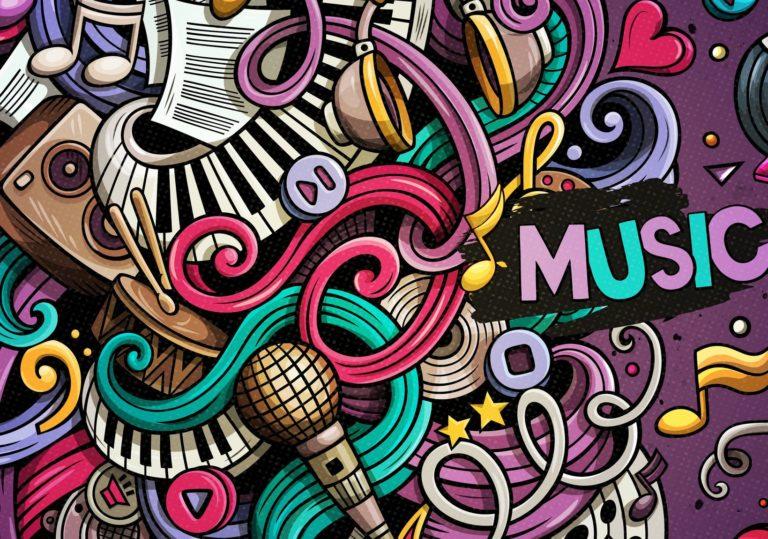 05 января — Мастер-класс «Меломания», рисунок в технике поп-арт