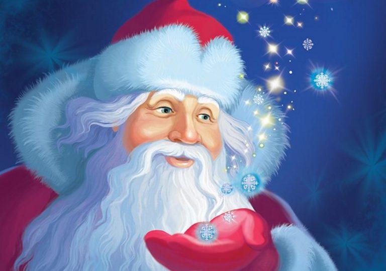 07 декабря — Мастер-класс «Портрет Деда Мороза»