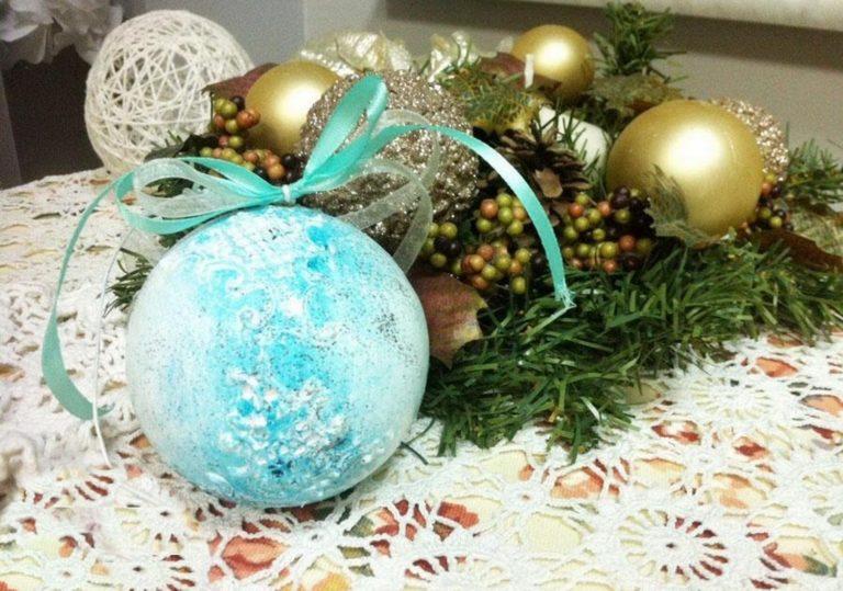 21 декабря — Мастер-класс «Игрушка на елку»