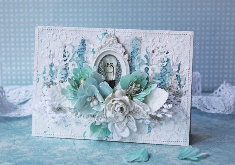 08 февраля — Мастер-класс «Романтическое настроение», оригинальная открытка, скрапбукинг.