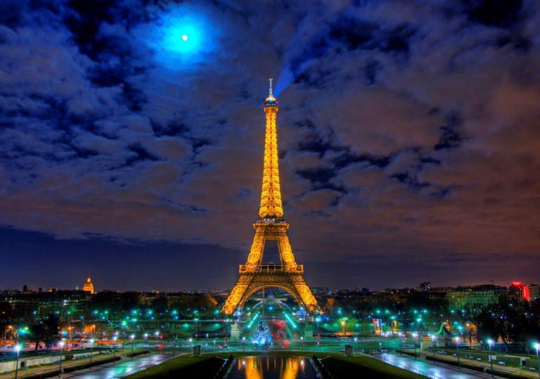 26 января — Мастер-класс «Ночной Париж», рисунок, пастель.
