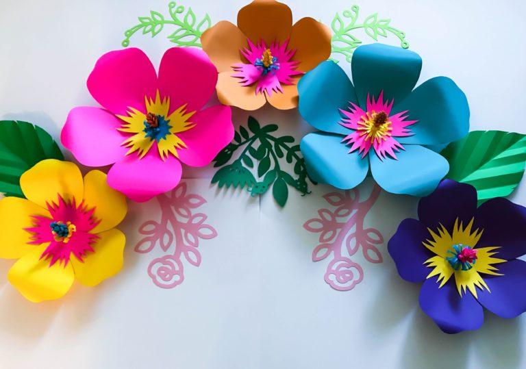 7 марта мастер-класс «Весенние цветы», создаём объёмную аппликацию