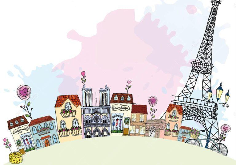 15 февраля — Мастер-класс «Город романтиков», создаём открытку в технике скетчинг.