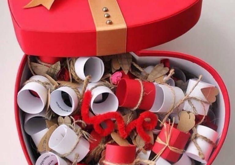 15 февраля — Мастер-класс «Признания в любви», оригинальная валентинка для самых любимых
