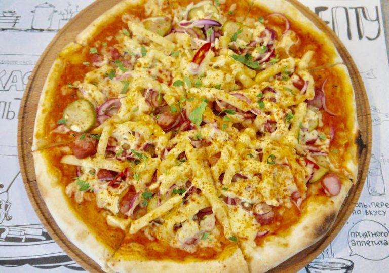 Пицца под пиво – гастрономическое предложение от бренд-шефа комплекса