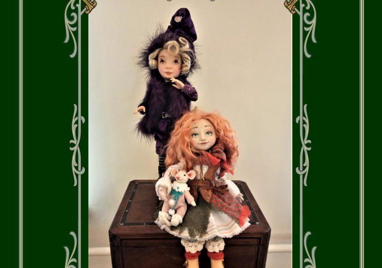 В музее А.С.Грина откроется традиционная выставка авторской куклы «Кукольный дворик-2020»