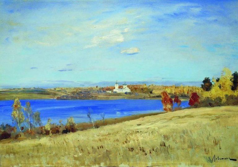 14 марта мастер-класс «Русские художники. Левитан. Река», рисунок гуашью в честь Международного дня рек