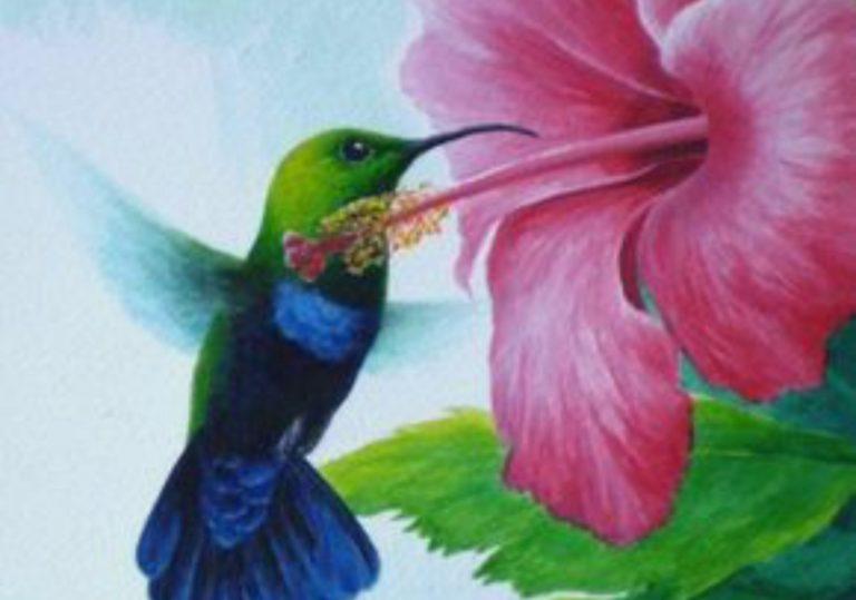 11 апреля мастер-класс «Скоро лето», рисунок, пастель