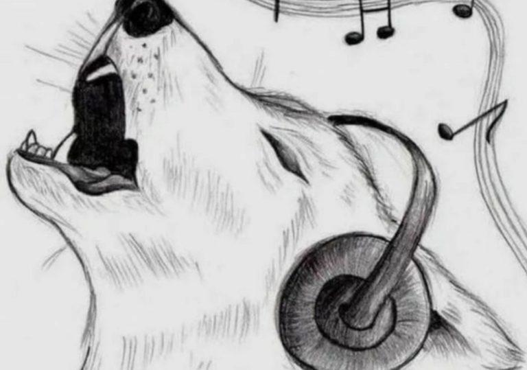 20 апреля мастер-класс «Мууузыка», рисунок, графитовый карандаш