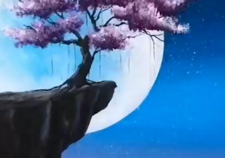 30 июня мастер-класс «Лунный ветер», рисунок, гуашь