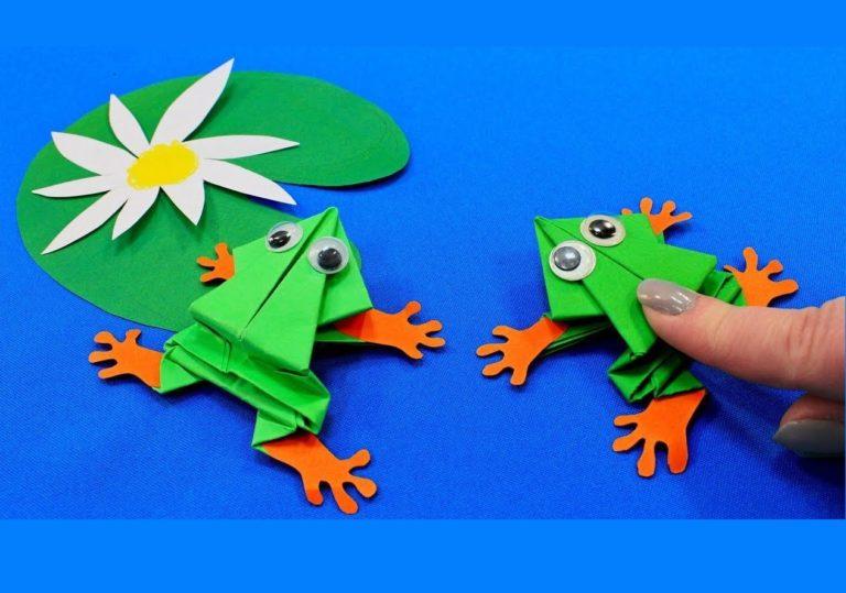 15 июля мастер-класс «Царевна-Лягушка», оригами, бумага.